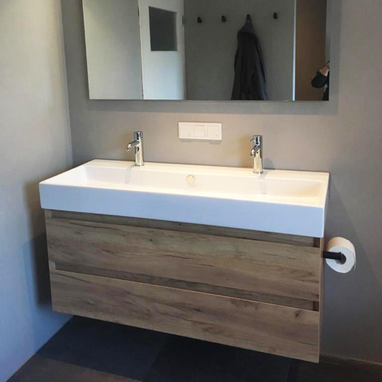 Badkamer verbouwing Beton cire, Oisterwijk