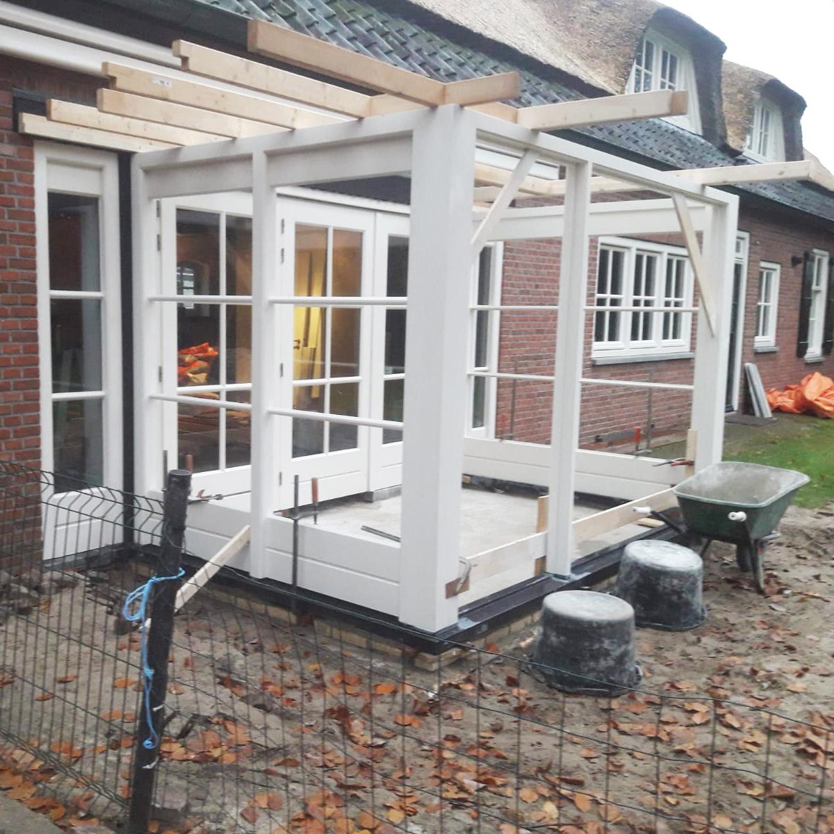 Aanbouw serre, Oisterwijk