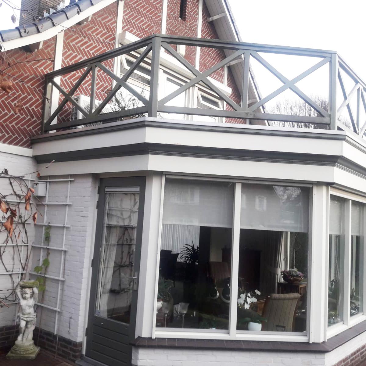 Hekwerk balkon, Berkel Enschot
